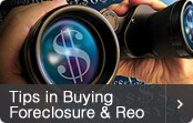 Tips in Buying Foreclosure and REO Properties